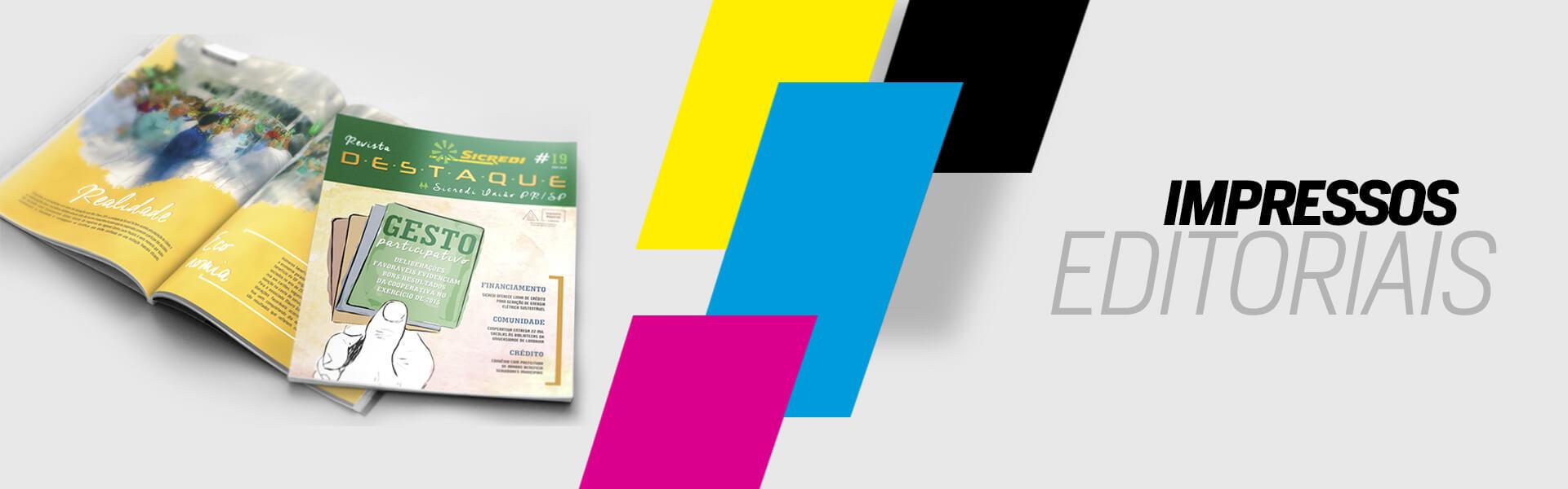 Impressos Editoriais | Caiuás Gráfica e Editora