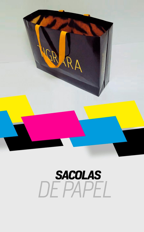 Sacolas | Caiuás Gráfica e Editora